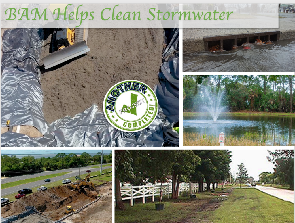 BAM helps clean stormwater