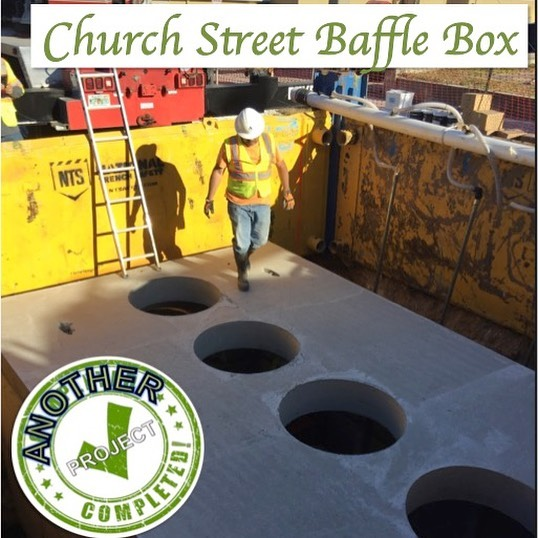 Church Street Baffle box project
