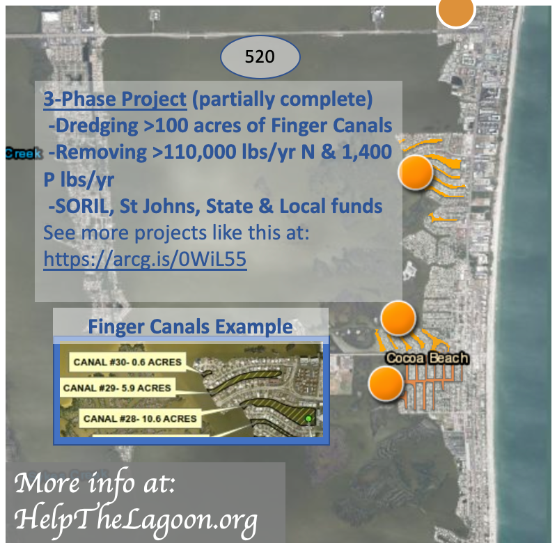 Cocoa Beach Canal dredging