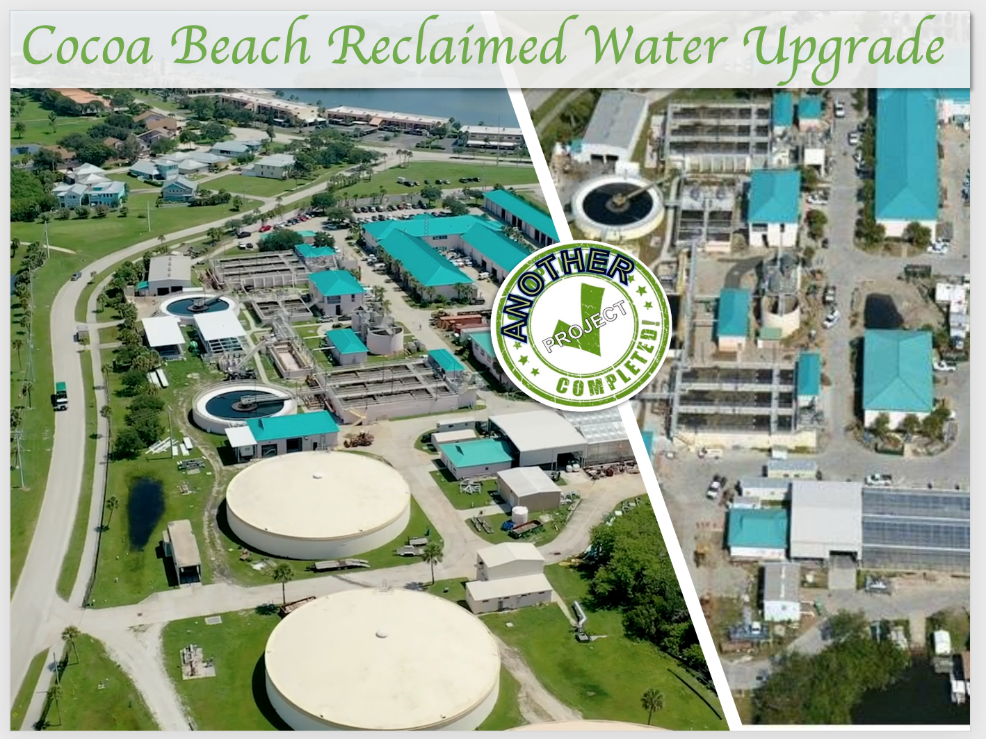 Cocoa Beach Reclaimed Water upgrade
