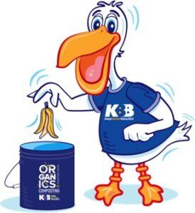KBB Pelican Mascot