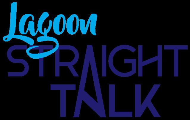 Lagoon Straight Talk logo