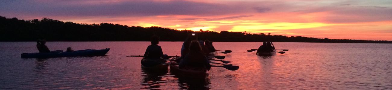 Kayaking on the Indian River Lagoon